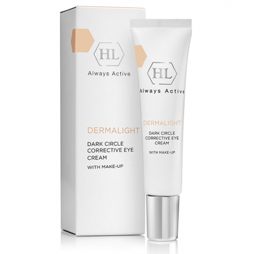 Holy Land DERMALIGHT Dark Circle Corrective Eye Cream make-up | Корректирующий крем с тоном, 15 мл